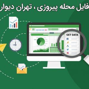 شماره موبایل ساکنین محله پیروزی تهران، دیوار